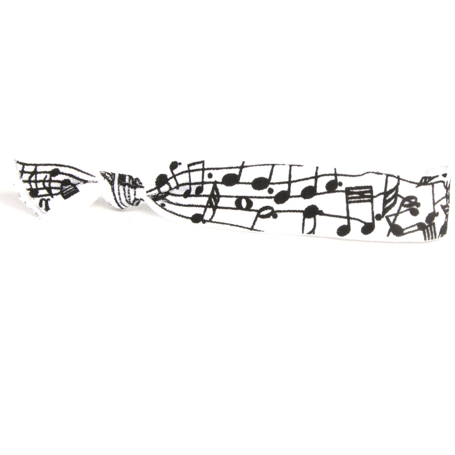 Music Notes Hair Bracelet