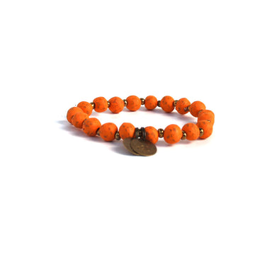 Orange Peel Mission Bracelet