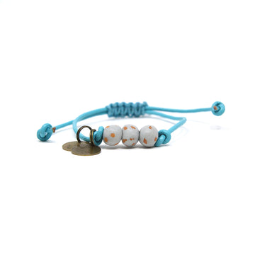 Gray Vegan Leather Pipeline Bracelet