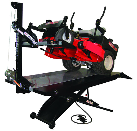 Handy Deck Hand (Riding Mower Lifter) - MotorcycleLifts.com