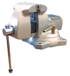 "Shure (YOST) Heavy-Duty 5"" Bench Vise - MotorcycleLifts.com"