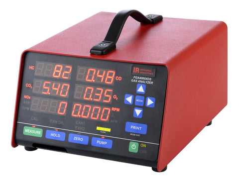 Infrared Industries FGA4000XDS Exhaust Gas Analyzer - MotorcycleLifts.com
