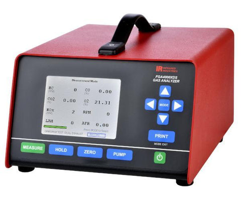 Infrared Industries FGA4500 Exhaust Gas Analyzer (LCD Display) - MotorcycleLifts.com
