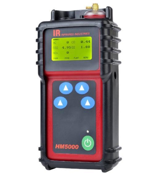 Infrared Industries HM5000 Handheld Exhaust Gas Analyzer (Best for Motorcycles) - MotorcycleLifts.com