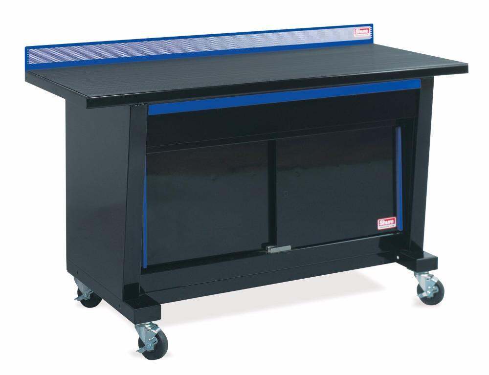 Shure Custom Series Workbench (Portable w/Sliding Doors) - MotorcycleLifts.com