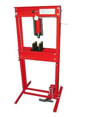 Nugier 20 Ton Hydraulic Press (Foot Operated) - MotorcycleLifts.com