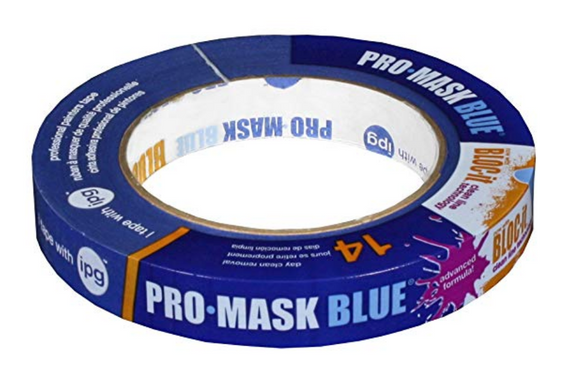 Professional Blue Painters Tape 3/4