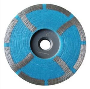 Blue Resin Coarse Cup Wheel 4""