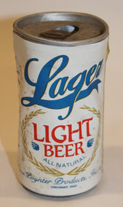 Old Rustic lager Light Beer Can
