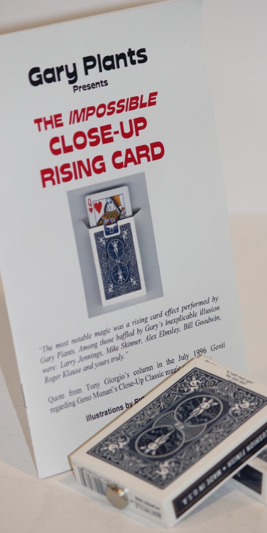 The Impossible Close-Up Rising Card  -  Gary Plants