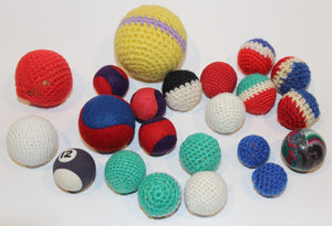 Misc Crocheted Balls & Others