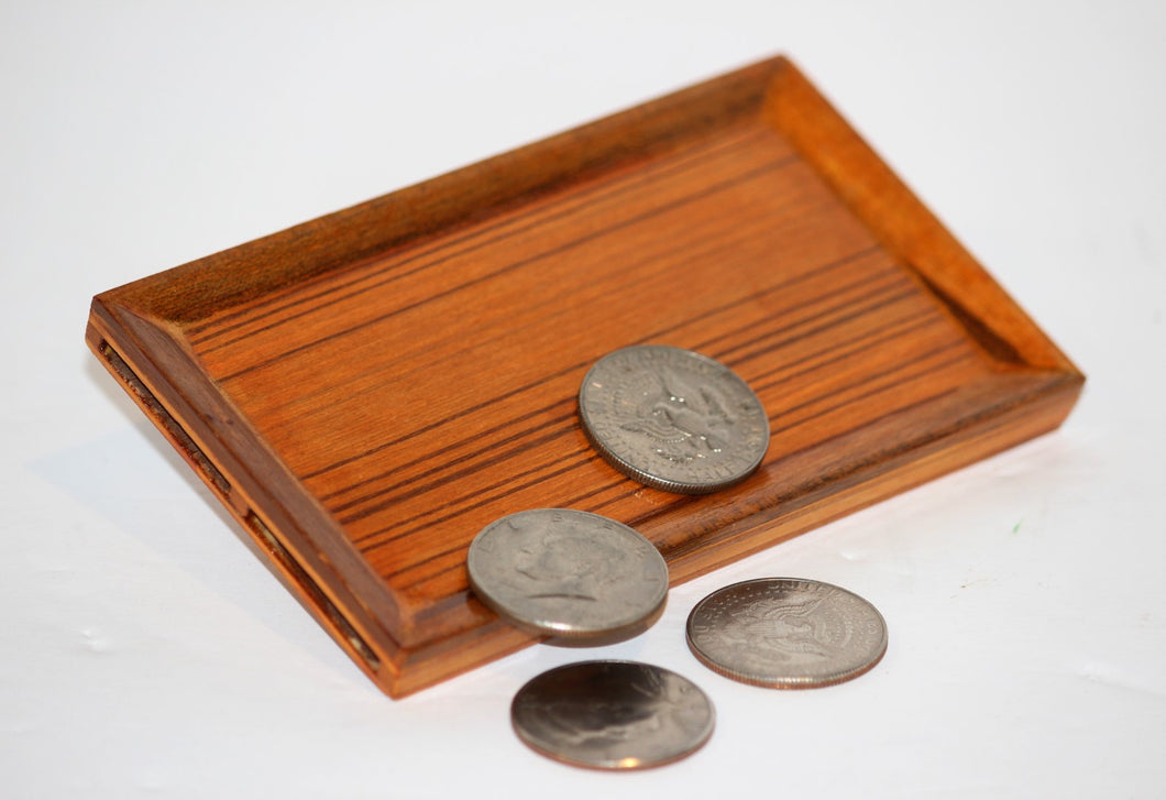 Wood Coin Production Tray