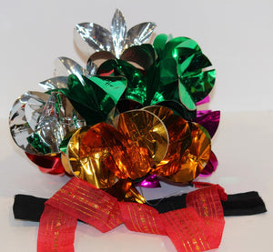 Dutt's Flowers on Ribbon  -   Imported