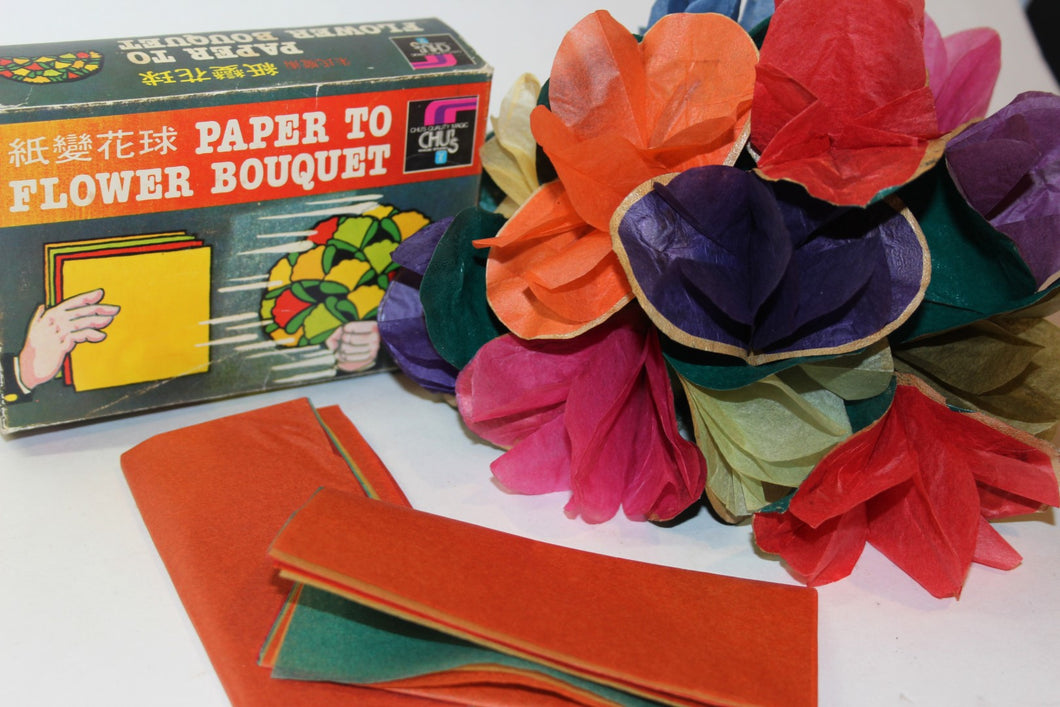 Paper To Flower Bouquet  -  Chu's Magic