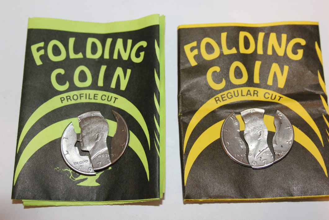Folding Kennedy Halves  -  Sterling