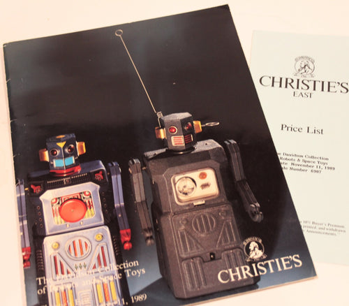Christie's - The Davidson Collection of Robot & Space Toys Catalogue