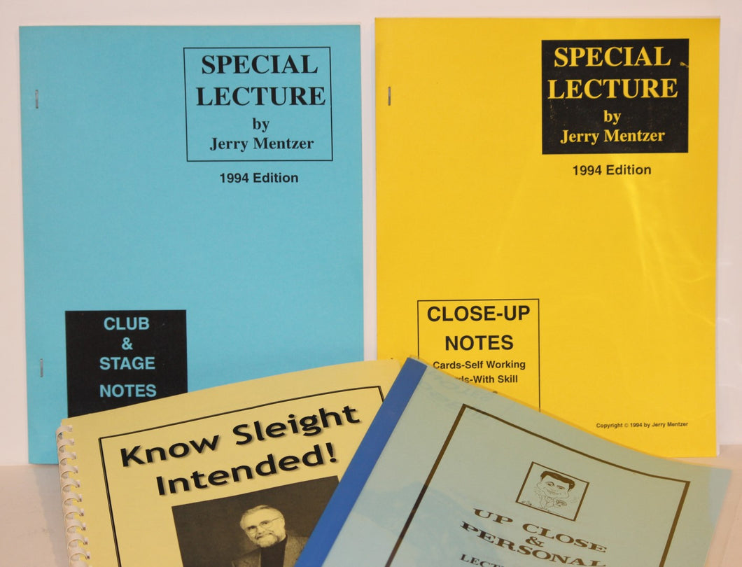4 Great Lecture Notes