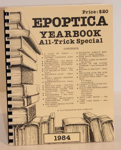 Epoptica Yearbook - All-Trick Special  -  Busby