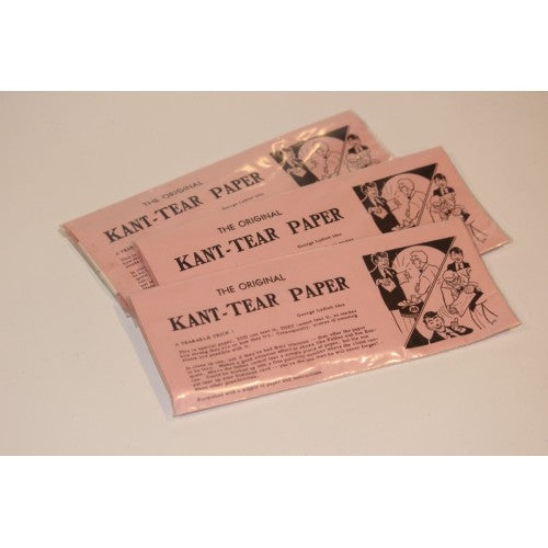 Three Unopened Kant-Tear Paper - Magicraft