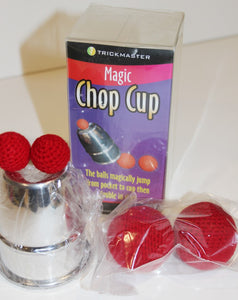 Light Weight Aluminum Chop Cup & Balls