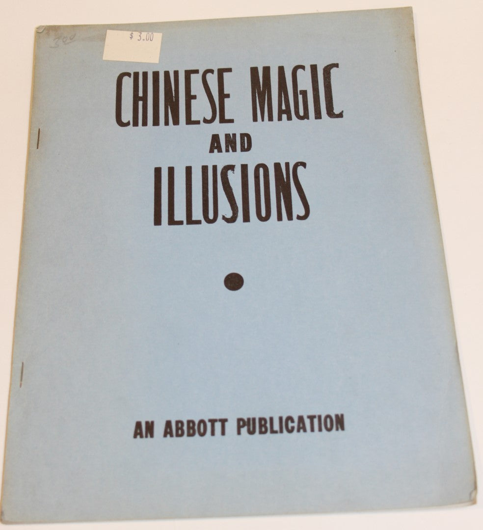 Chinese Magic and illusions  -  Abbott's