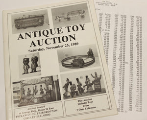 Antique Toy Auction Catalogue