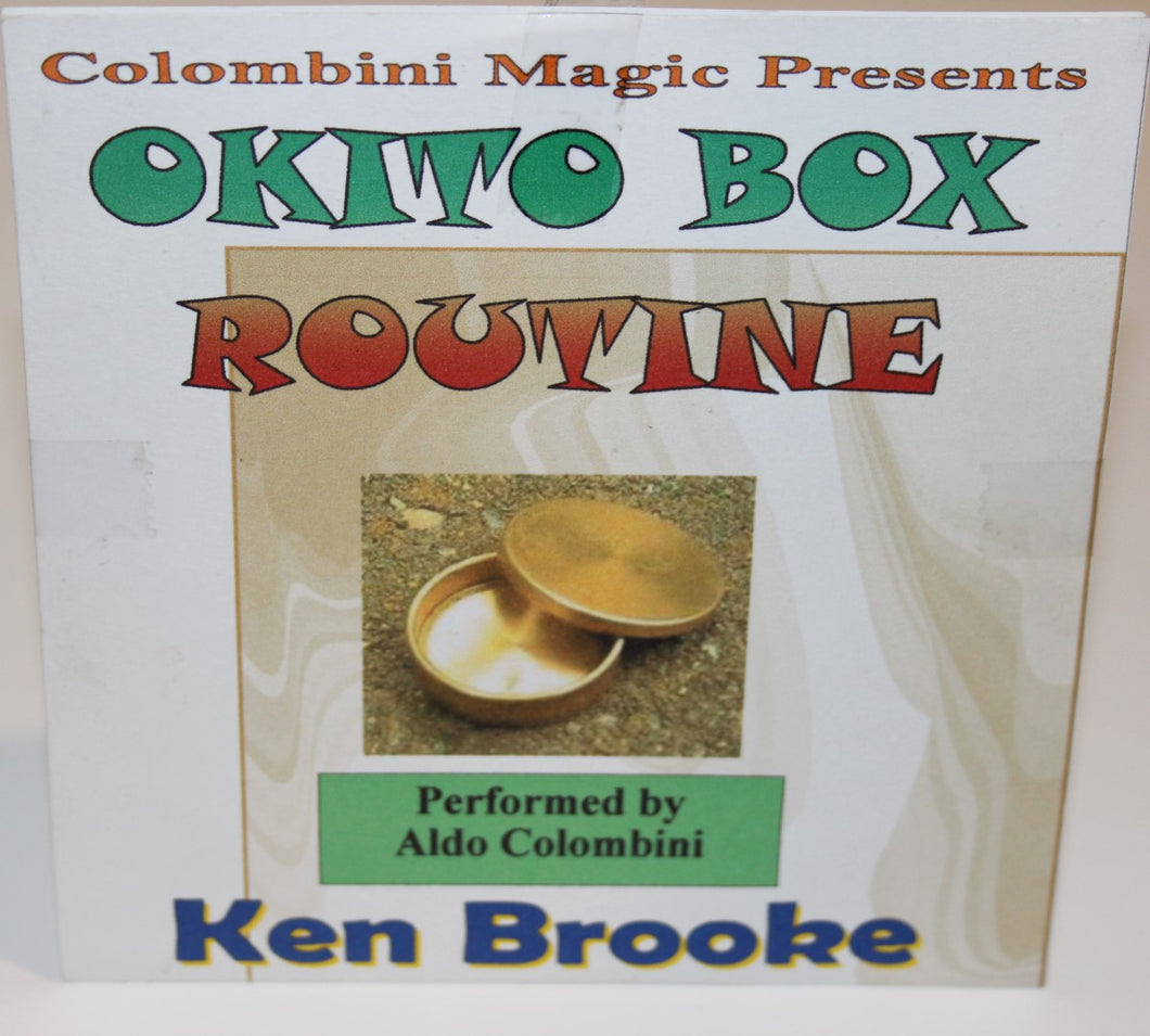 Okito Box Routine DVD -  Ken Brooke/Colombini
