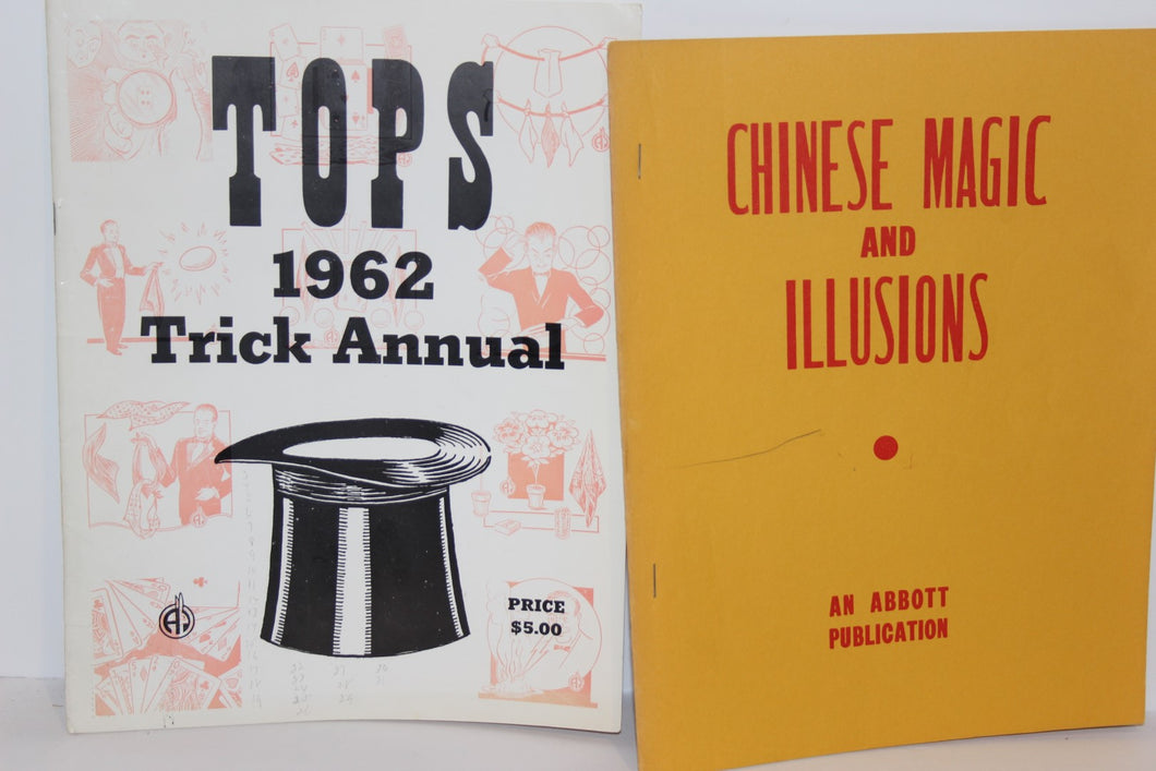 Tops 1962 Trick Annual & Chinese Magic & Illusions  -  Abbott