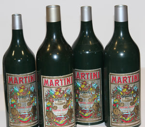 Nest of Four Martini Bottles