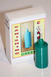 Vanishing Candle, Green  -  Imported