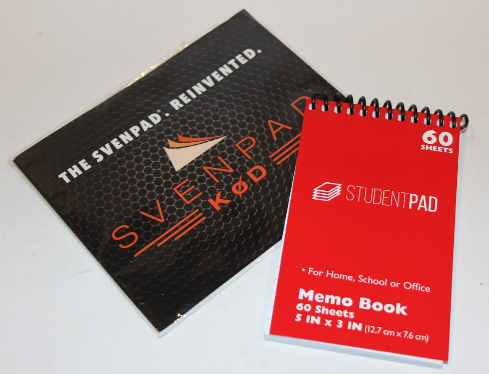 SvenPad® KoD (Single) (Red Cover) The World's Most Advanced SvenPad® With A Spiral Binding   L