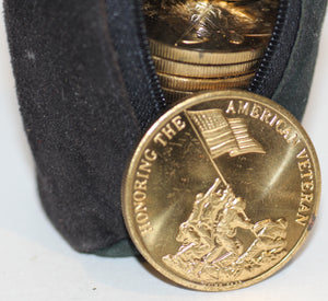 Honoring The American Veteran /Preserving American Freedom Iwo Jima Coins