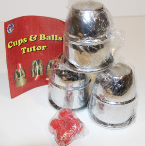 Cups and Balls Tutor  -  Fun Time Magic