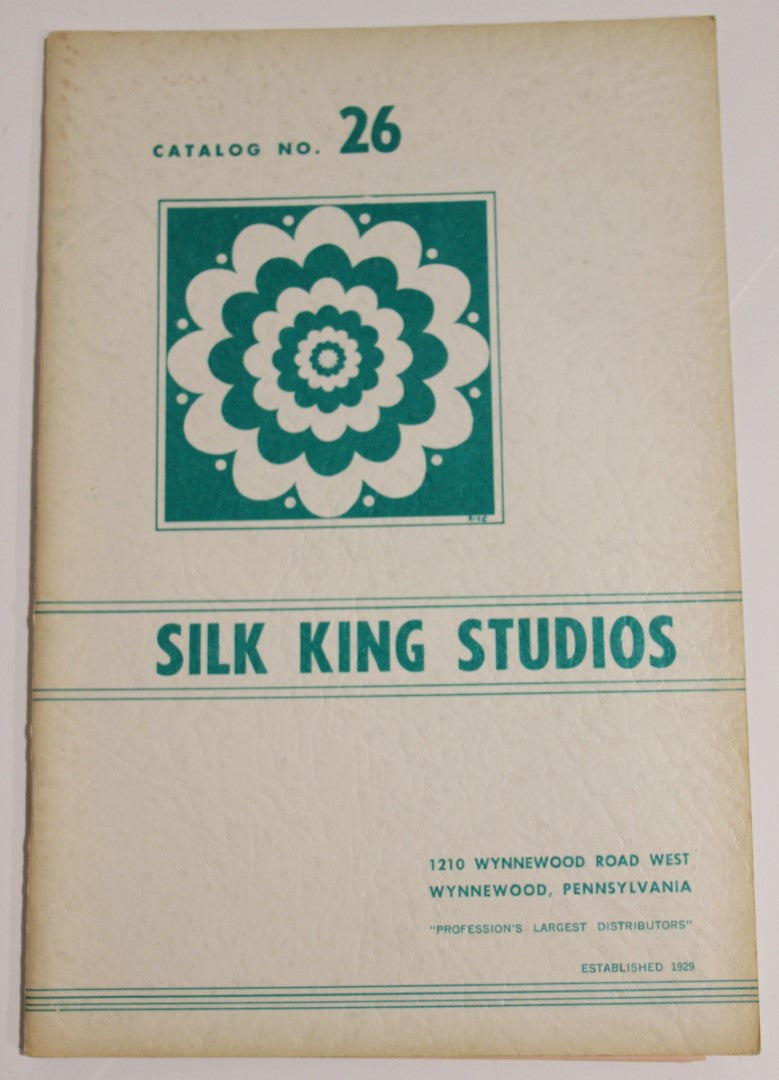 Silk King Studios Catalog No. 26   -  Rice