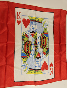 "18"" King of Hearts Silk"