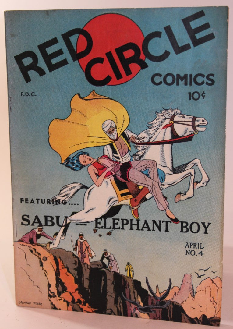Red Circle Comics (Sabu-Elephant Boy)