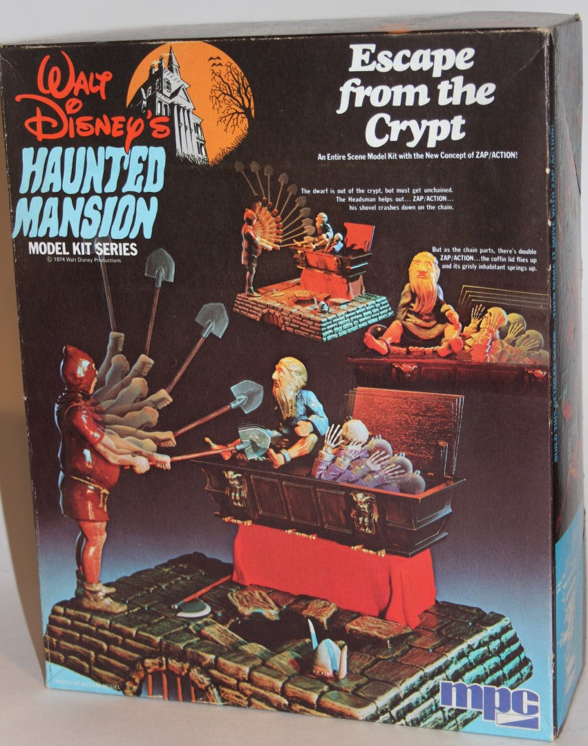 Walt Disney's Haunted Mansion Model Kit Series