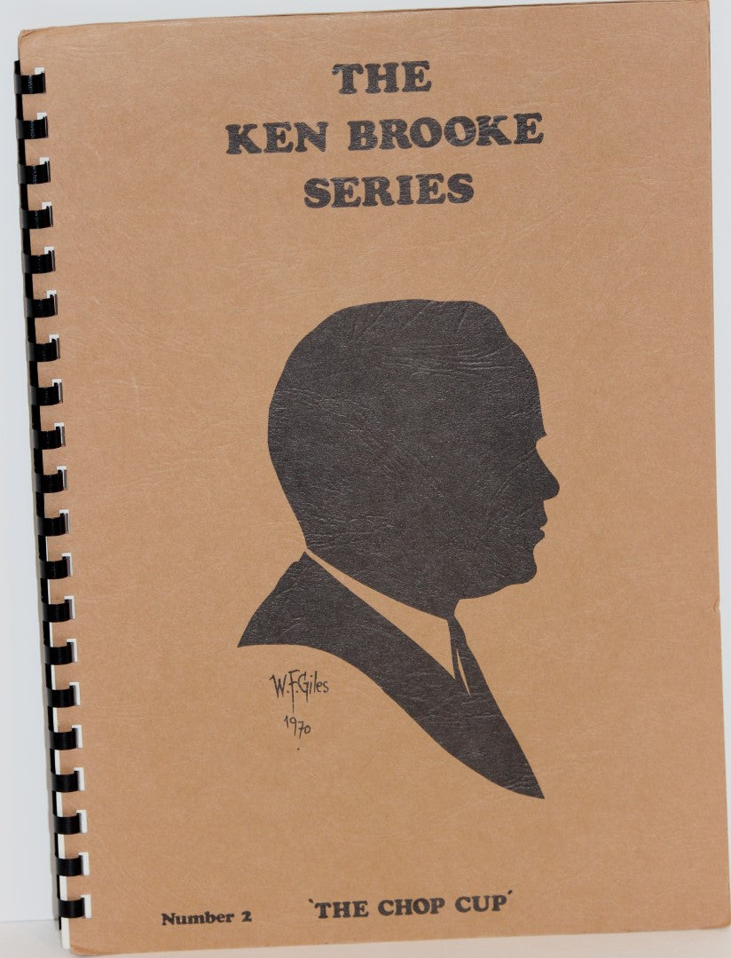 The Ken Brooke Series  -  Number 2:  The Chop Cup