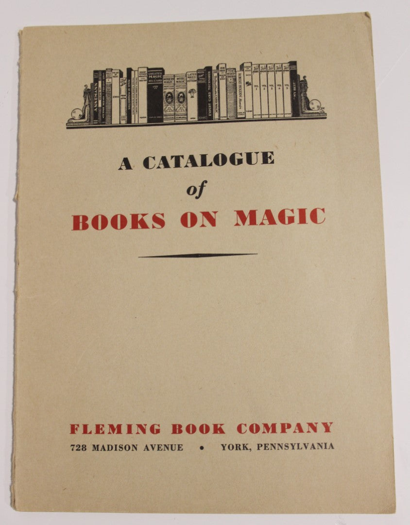 A Catalogue of Books on Magic  -  Fleming Book Co.