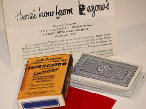 Infracardo  -  Will Deseive's/Regow Magic Co.