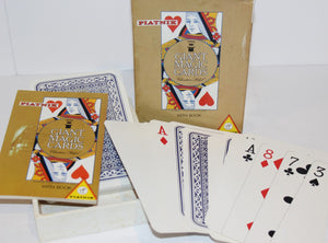 Piatnik Jumbo Cards  -  Austria/Magic Christian