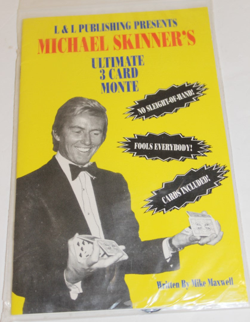 Michael Skinner's Uoltimate 3 Card Monte  -  Mike Maxwell