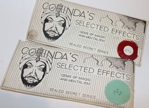 Corinda's Selected Effects, Sealed Secret Series
