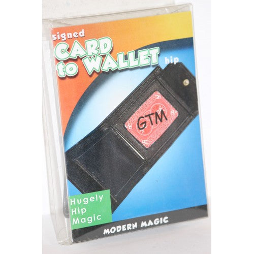 Signed Card to Wallet  -  Modern Magic