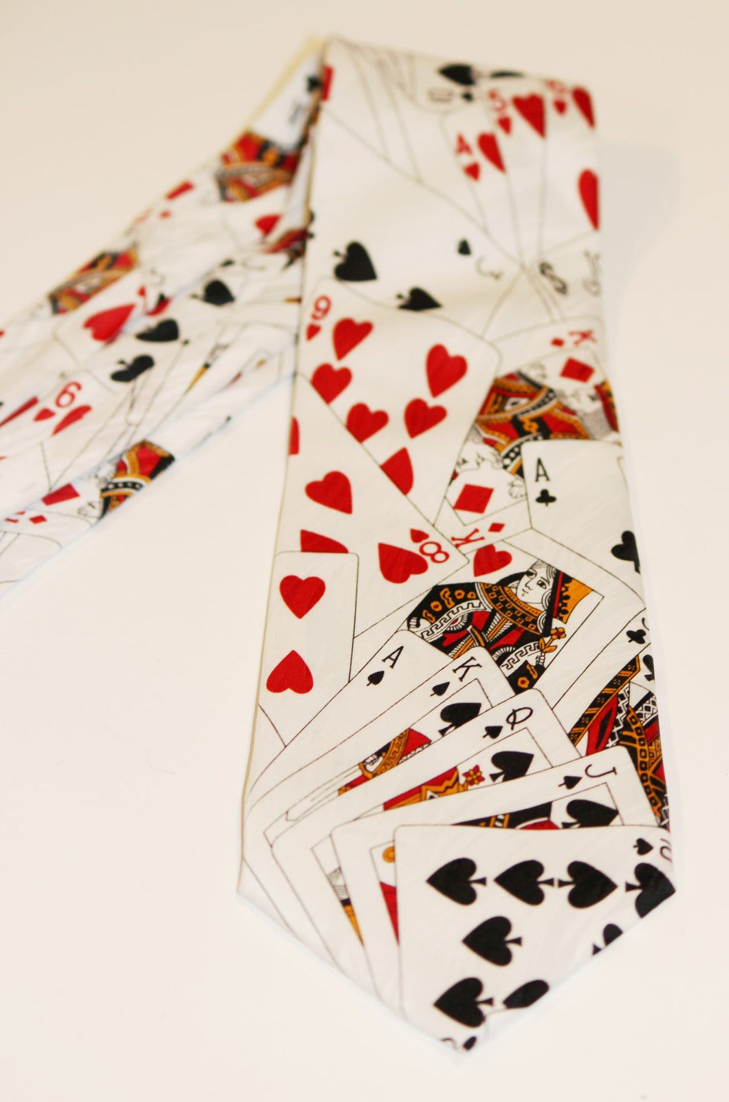Royal Flush Necktie  -  Keith Daniels, Paris/Italy/New York