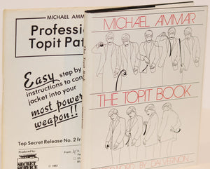 The Topit Book w/Professional Pattern included  -  Michael Ammar  (Inscribed & Signed)