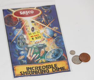 Incredible Shrinking Dime  -  Sasco