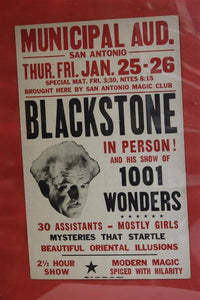 Blackstone Sr. Window Card