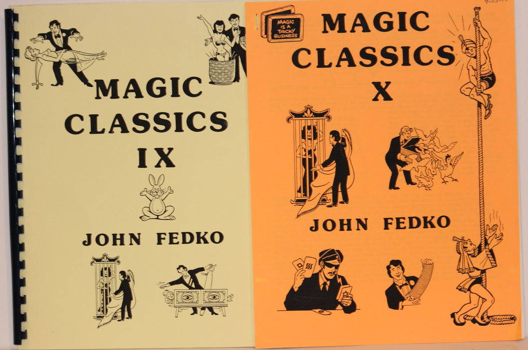 Magic Classics IX & X  -  John Fedko