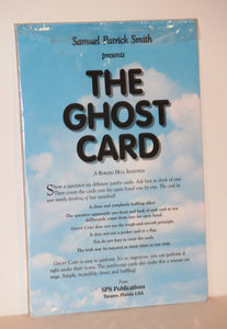 The Ghost Card  -  Samuel Patrick Smith